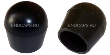 Заглушка наружная для круглой трубы 10 мм