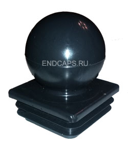 Заглушка с шаром 50x50 мм
