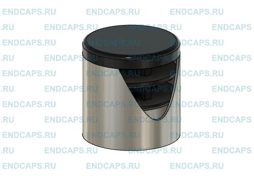Схема установки заглушки 25 мм